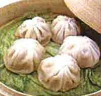 Gedämpfte Pastete nach Shanghai Art